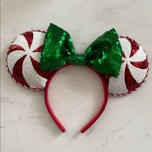 Peppermint Minnie Ears!